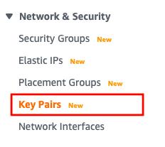 set up key pairs